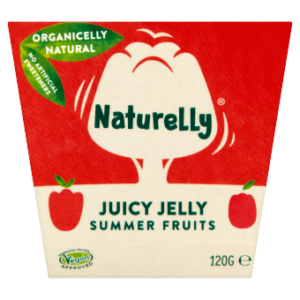 Naturelly Summer Fruits Juicy Jelly Pots